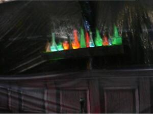 Sabbia in vetro che si illumina al buio bottiglietta magia harry Potter pozioni
