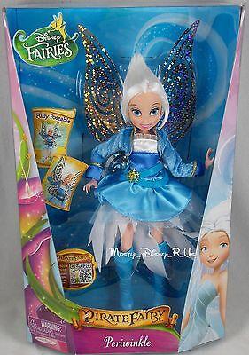 "Disney Fairies Pirate Fairy Movie Periwinkle 9"" Deluxe Fashion Toy Doll Figure"