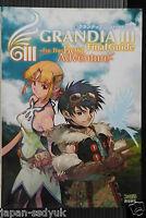 Grandia III Final Guide For The Best Adventure Japan book 2005 OOP RARE