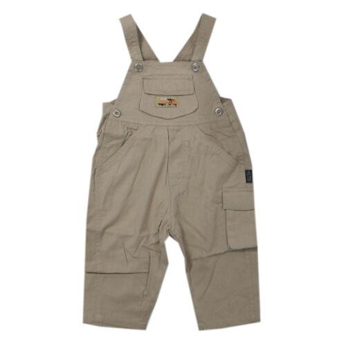 Libel Latzhose Pantalons longue pantalon beige coton garçon bébé taille 74
