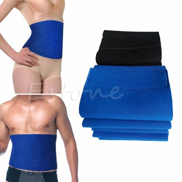 d60634373b Waist Trimmer Exercise Burn Fat Sweat Weight Loss Slimming Wrap Belt Body  Shaper