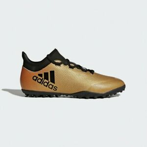 Adidas-X-Tango-17-3-Turf-J-Shoes-Men-Adult-Copper-Gold-Boots-CP9135-Soccer-8-5