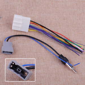 image is loading 2-car-radio-install-stereo-wire-harness-cable-
