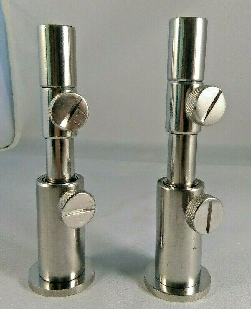 """Carp Fishing Stage Stands Inserts 3/"""" 4/"""" or 5 /"""" Platforms Stainless steel...."""