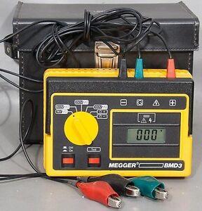 Avo Biddle Megger Bmd3 Portable Insulation Continuity Tester Catalog No 210601 Ebay