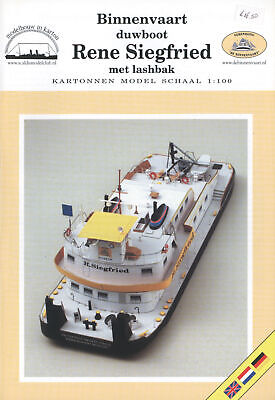 Kartonmodell Baggerschiff Friesland 1:100 Scaldis