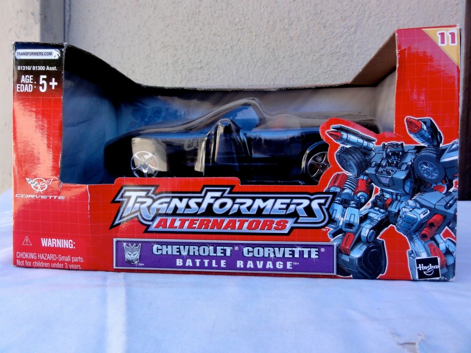 2004 Transformers Alternator RID Battle Ravage Corvette Sealed MISB MIB BOX