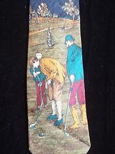 Domenico Franco Como Neck Tie Made in Canada Italien Silk Men Golfing TY17
