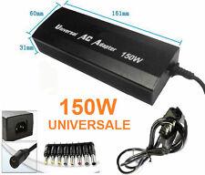 Alimentatore adattatore UNIVERSALE. Caricabatterie PC notebook 220V - 150W-Max