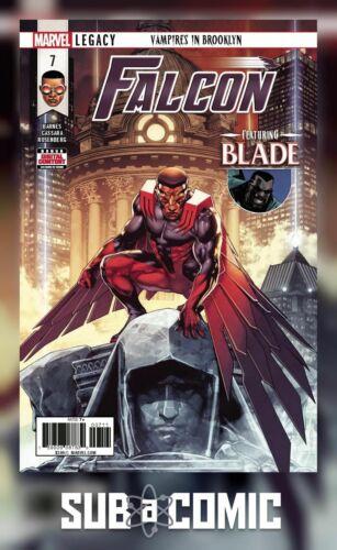 FALCON #7 LEGACY COMIC MARVEL 2018 1st Print