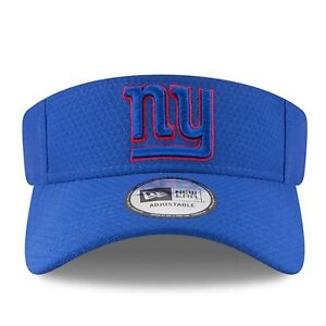 f13c814070c5d0 New York Giants New Era Training Camp Visor Hat Blue - Free Ship ...