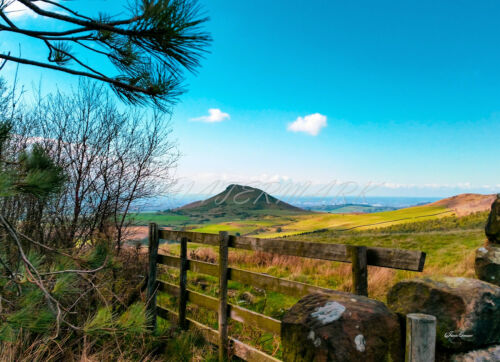 Roseberry Topping MDF Photo Montage Galerie STYLE Wall Art Original photographie.