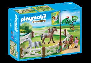 Playmobil-6931-Caballo-Paddock-nuevo