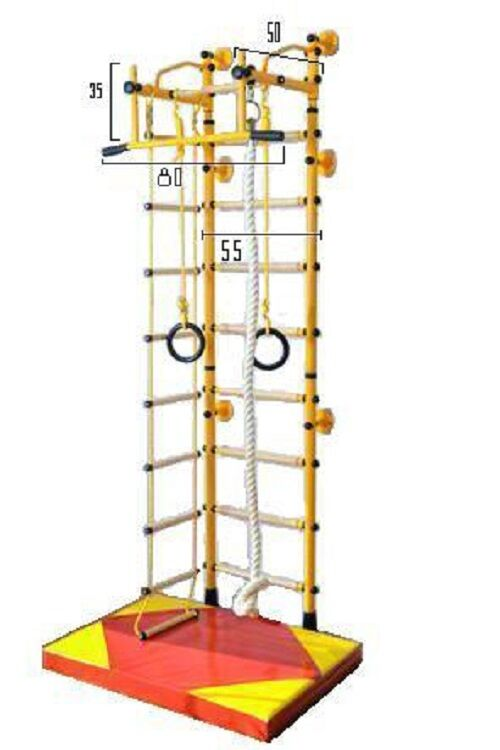 NiroSport FitTop M2 Wall Bars Frame Climbing Frame Bars Gym 99a1c8