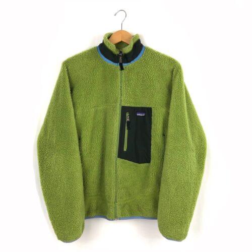 Vintage Green Patagonia Deep Pile Fleece