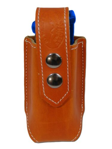 NEW Barsony Tan Leather Single Magazine Pouch for Ruger Star Full Size 9mm 40 45