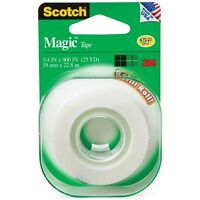 Scotch Magic Tape Refill Roll 3/4 X 900 1 Ea (pack Of 4) on sale