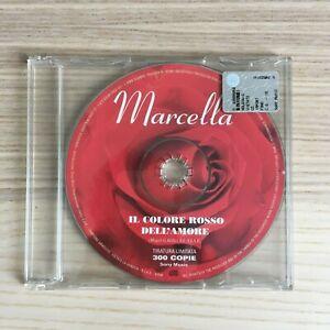 Marcella Bella _ Il Colore Rosso dell'Amore _ CD PROMO _ 2001 LTD Ed. 300 copie