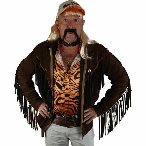 Exotic Tiger Lover Fringe Jacket Adult Standard Size Halloween Accessory