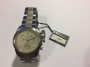 002308e08 Image is loading Rare-NOS-Vintage-Hamilton-Stainless-Steel-Khaki-Chronograph -