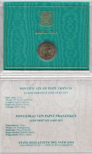 2 Euro Commemorativo Vaticano 2013 Fdc Soulager Le Rhumatisme