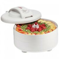 Nesco Fd-60 Snackmaster Express 4-tray Food Dehydrator, New, Free Shipping on sale