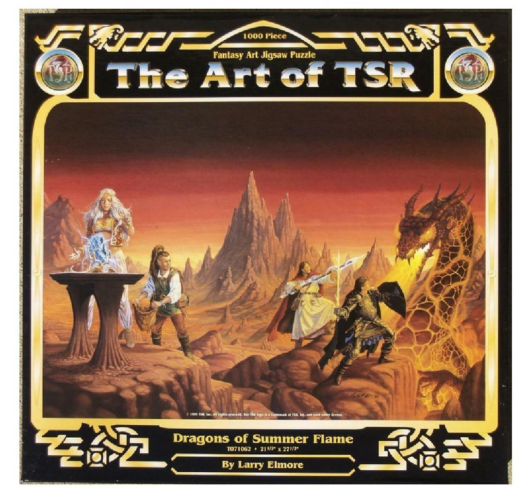 The Art of TSR Fantasy Art Jigsaw Puzzle 1000 Pieces by Larry Elmore (AE)