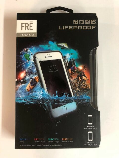 quality design cb9e4 92b89 LifeProof Fre Series WaterProof Case Cover For Apple iPhone 6/6s Avalanche  White