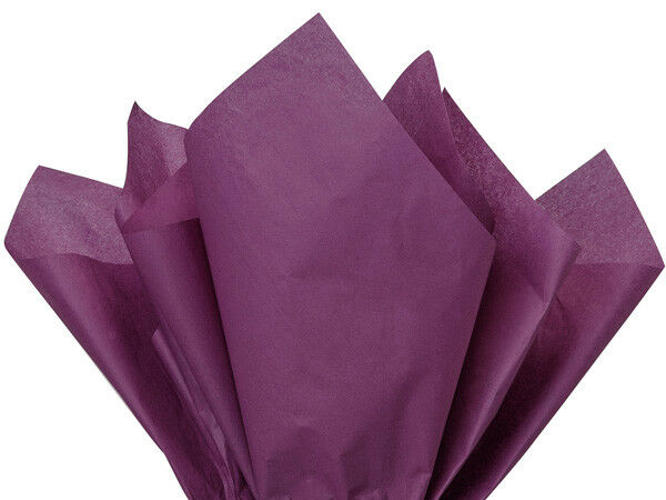480 Sheets!! Free Shipping Purple Tissue Paper High Quality