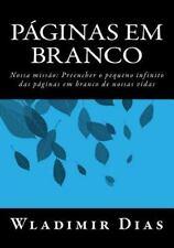 Páginas Em Branco by Wladimir Dias (2014, Paperback)