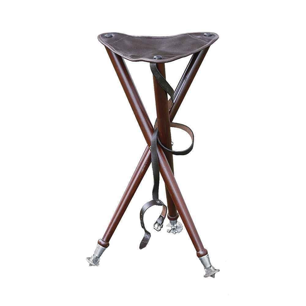 Tres pierna-ansitzstuhl con puntas de metal-alta calidad, robusto, procesamiento
