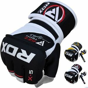 RDX-MMA-Gloves-Grappling-Training-Punching-Bag-Fighting-Wraps-Martial-Arts-USA