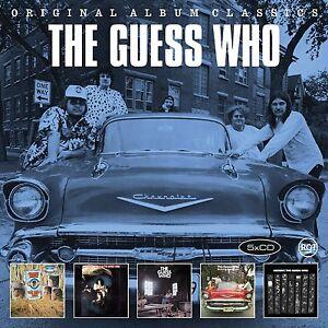 THE-GUESS-WHO-ORIGINAL-ALBUM-CLASSICS-5-CD-NEU