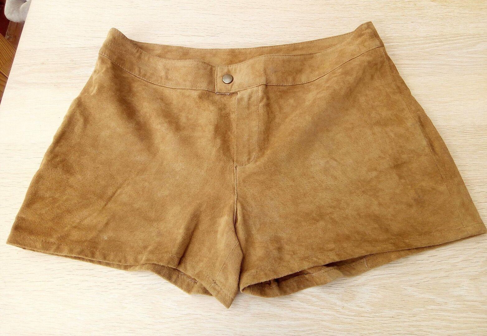 Leder Shorts von Pimkie Gr. 38