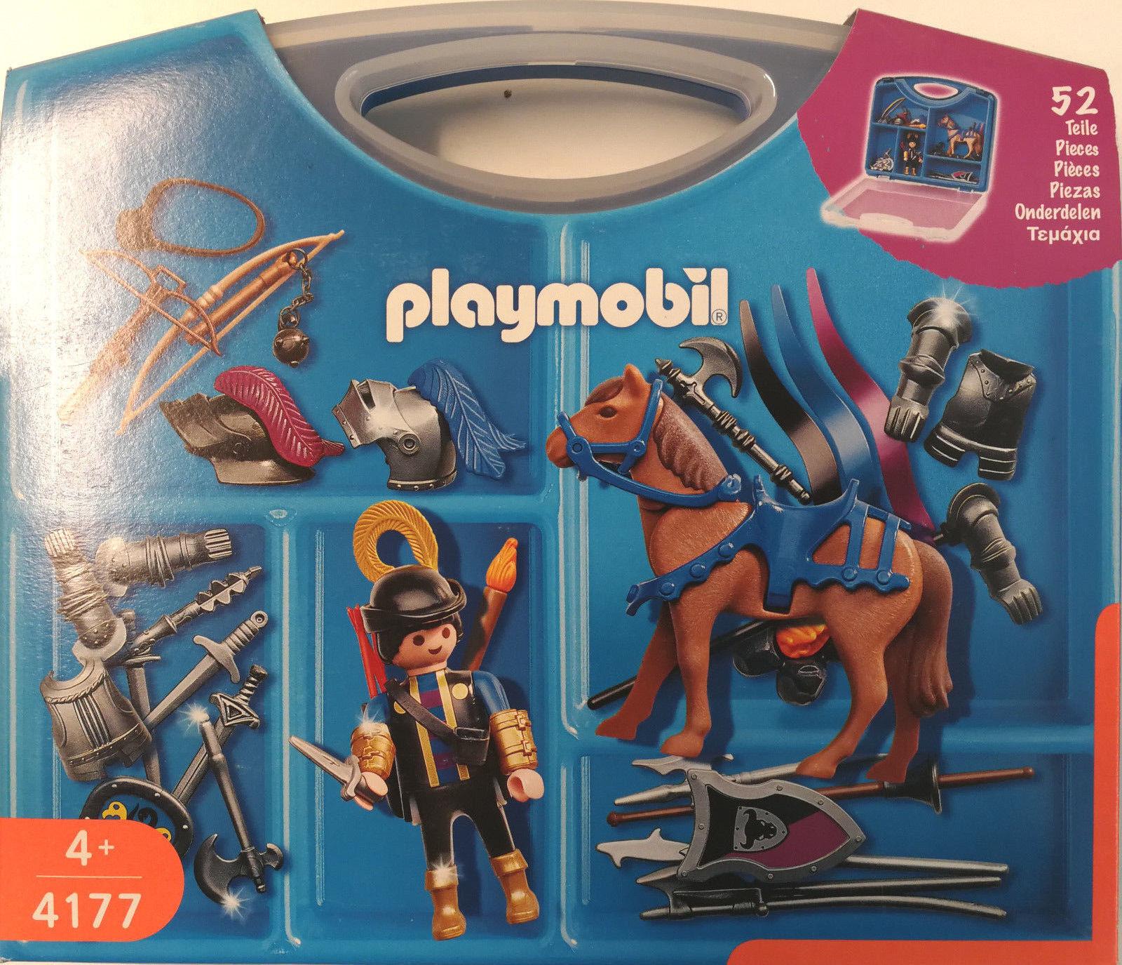 Playmobil 4177 Ritter Box Sortierbar NEU