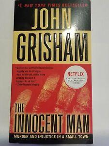 BOOK-The-Innocent-Man-by-John-Grisham-2018-edition-used