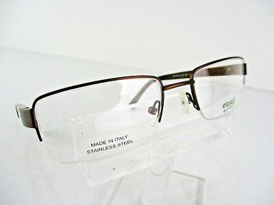 NEW Safilo Elasta E 3105 (09HM) Brown 57 x 19 150 XXL Eyeglass ...