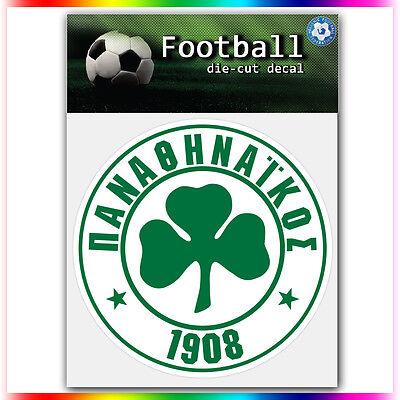 "Panathinaikos FC UEFA Die Cut Vinyl Sticker Car Bumper Window 4""x4"""