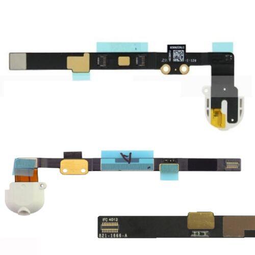 Para iPad Mini conector para auriculares Audio Jack Cable Flexible de Recambio Blanco