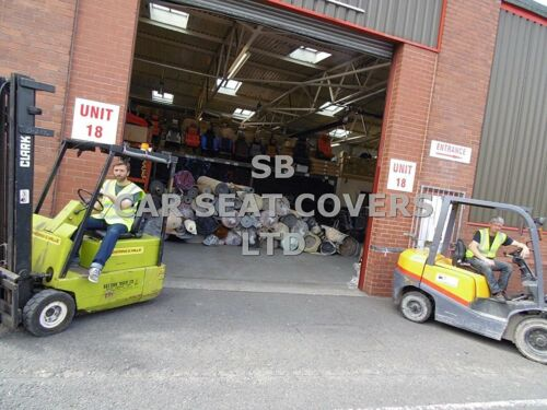 I Rossini Inchek//Orange Passend für Peugeot Bipper Tepee Autositzbezüge
