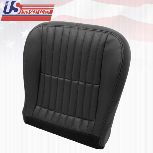 2000 To 2002 Chevy Camaro SS RS Z28 Driver Side Bottom Seat Cover Black