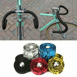 Bicycle Bike Handlebar Wrap Vibration Bar Tape Grip Absorbing Foam Road Cycling