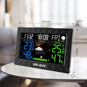 Wireless Funk Wetterstation LCD Farbdisplay Thermometer Hygrometer Außensensor - Frankfurt, Deutschland - Wireless Funk Wetterstation LCD Farbdisplay Thermometer Hygrometer Außensensor - Frankfurt, Deutschland