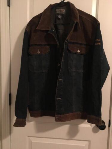 Vintage Storm Industry Men's Corduroy Jean Jacket