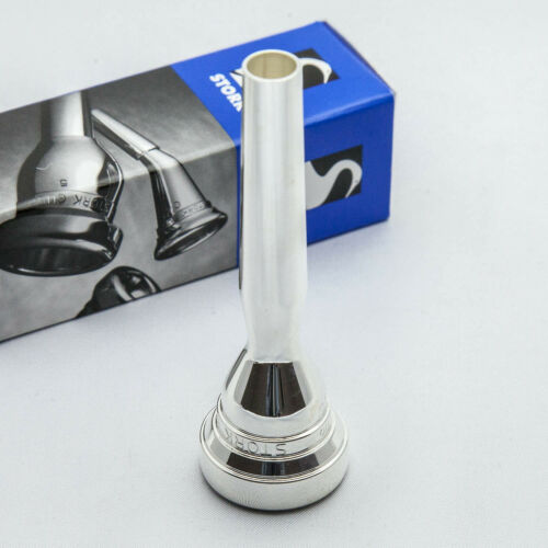 Geniune Stork Studio Master XM4 Silver Trumpet Mouthpiece NEW