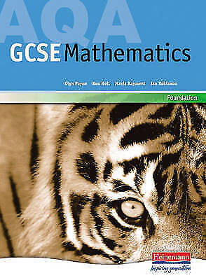 AQA GCSE Maths for 2006: Foundation Student Book (Edexcel Gcse-ExLibrary