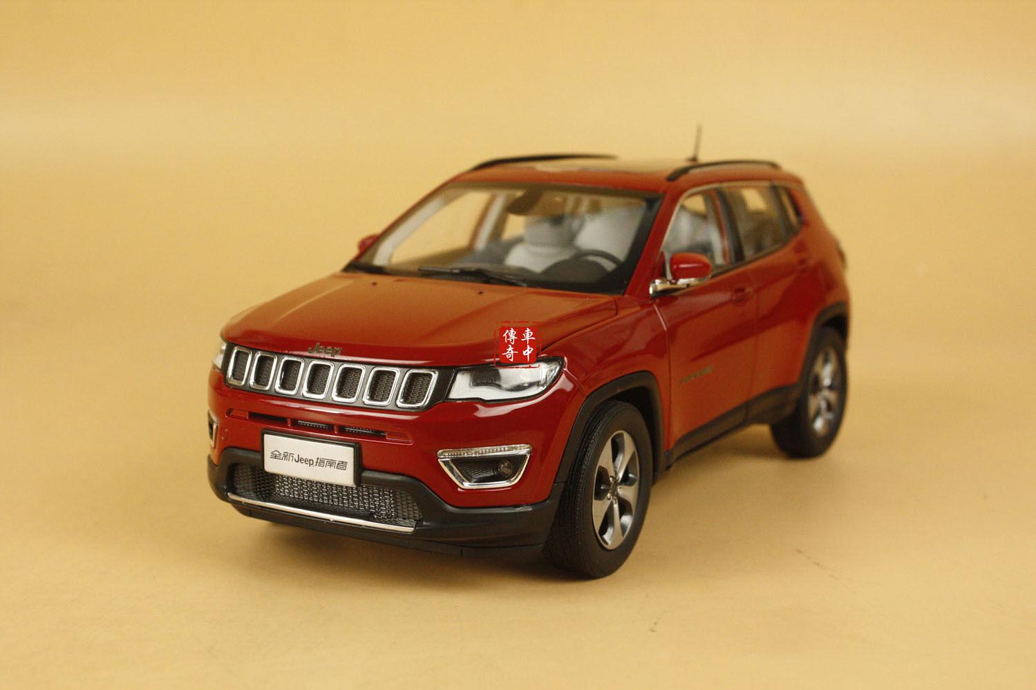 1/18 nuevo Jeep Compass Limitada Color Rojo  Regalo