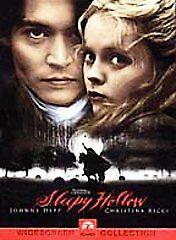 Sleepy Hollow DVD - GOOD - $4.91