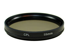 55mm Polarizer CPL Filter Lens FOR Sony DSLR-A550 A500