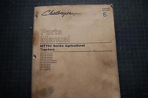 Caterpillar Challenger MT700 Tractor Parts Manual farm OEM CAT catalog 2002 list